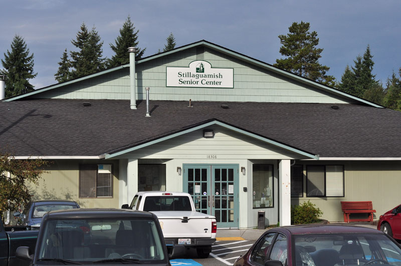 Stillaguamish Senior Center Entrance 2